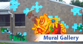 Mural masters wall art murals baltimore for Baltimore mural program